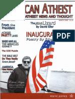 American Atheist Magazine March 2009