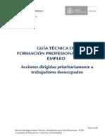 Guía Técnica de Formacion Profesional para el empleo