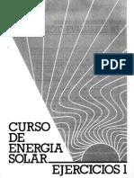 Curso de Energia Solar - Ejercicios 1