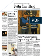 The Daily Tar Heel for Jan. 20, 2010