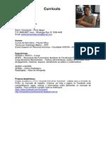 Currículo profissional Recursos Humanos Porto Alegre