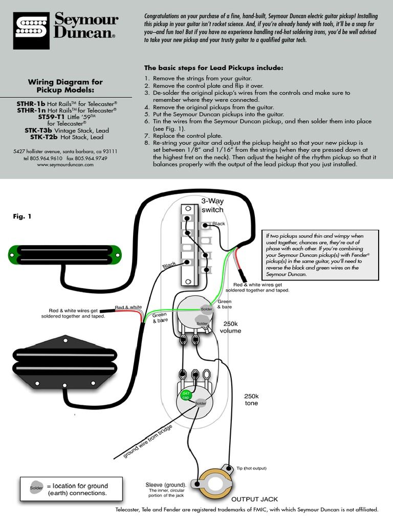 Awesome Seymour Duncan Pickup Chart Image - Best Images for wiring ...
