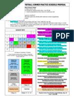 2015 MD HS Summer Practice Timeline - Inclusive