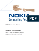 Nokia Brand Audit