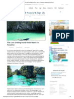 The Lost Underground River World in Paradise _ Mysterious Universe