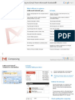Switching to Gmail From Microsoft Outlook