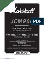 Manual JCM900 SLX