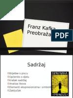 Franz Kafka - Preobražaj