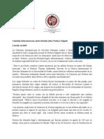 Comisión Interamericana emite decisión sobre Nestora Salgado