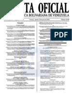 Sumario Gaceta Oficial 39.349