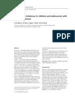 Maladaptive Behavior Down Syndrome