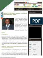 Lettre d'Un F.M à P.M. Mbonjo