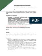 Laboratorio de Unidades de Medida y Factores de Conversión