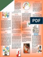 Triptico 4 Metodologias Activas Para Contribuir Al Desarrollo de Competencias