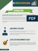 Guia Credito Hipotecario - Casas y Terrenos