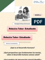 Relación Tutor Estudiante-psicologia Del Dh
