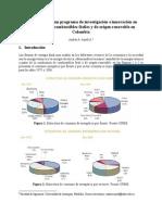 Elementos para un programa de investigación e innovación en combustión de combustibles fósiles y de origen renovable en Colombia