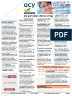 Pharmacy Daily for Thu 05 Feb 2015 - People per rural phmcy drop, PPA
