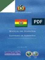 Manual Del Inspector Sanitario de Alimentos