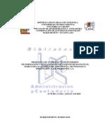 PROPUESTA DE UN PROYECTO DE INVERSIÓN DE FORMACIÓN Y ACTUALIZACIÓN DE TALENTO HUMANO EN EL MARCO DE LA LEY ORGÁNICA DE CIENCIA, TECNOLOGÍA E INNOVACIÓN