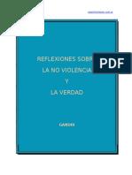 7. Reflexiones Sobre La No Violencia y La Verdad Gandhi - Accion Directa No a La Violencia