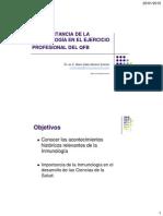 C1 Acontecimientos Históricos Relevantes de La Inmunología
