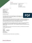 Debra Dykhuis Letter to Carl Elliott Jan 27 2015