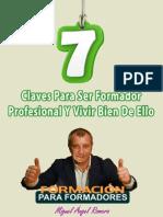 7 Claves Para Ser Formador Profesional
