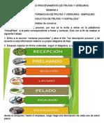 Proceso de Transformación de Frutas y Verduras - Empaques (SENA VIRTUAL)