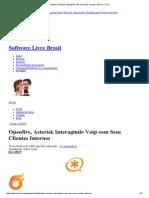 Openfire, Asterisk Interagindo Voip Com Seus Clientes Internos - DTuX