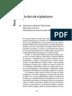 El Lado Oscuro de La Globalización Jorge Heine y Ramesh Thakur RESEÑA