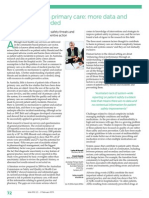 Patient safety in primary care