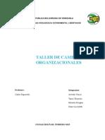 Cambio Organizacional Taller