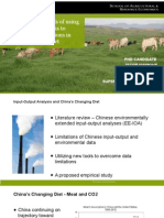 Promises and pitfalls of using input-output analysis to quantify CO2 emissions in China's changing diet
