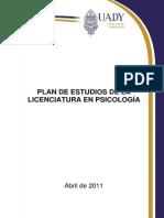 Plan de Estudios UADY