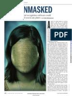 Facial Recongition Software