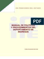 Manual de Procedimientos Del Departamento de Ingresos Avm