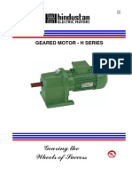 Geared Motor selection chart