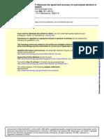 foxP influye en la velocidad de la drosopfila