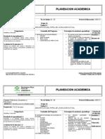 Planeacion Semestral Ibio Enero14