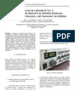 Parámetros de Medición de Señales Eléctricas