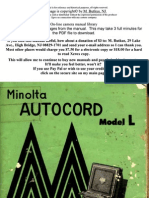Minolta Autocord l