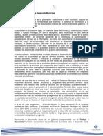 Plan de Desarrollo Municipal 2013-2015 Valle de Bravo