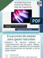 2. Ecuaciones de Estado Para Gases Naturales - ULTIMA VERSION