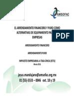 AMSOFAC-2011