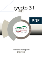 Proyecto 31 2014 Multigrado Zacatecas
