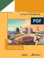 Alberta Learners License Handbook
