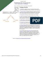 Plot Structure - Freytag's Pyramid