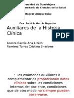 Auxiliares de La Historia Clínica