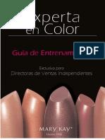 Guia de Maquillaje MK - Color